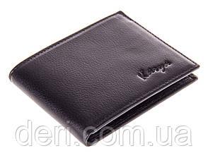 Надежное портмоне мужское кожаное черный, фото 2