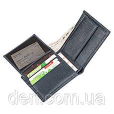 Мужской стильный бумажник из натуральной кожи, фото 2