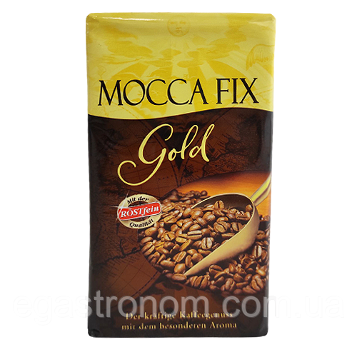 Кава Мокко Фікс голд (мелена) Mocca Fix gold 500g 12шт/ящ (Код : 00-00004701)