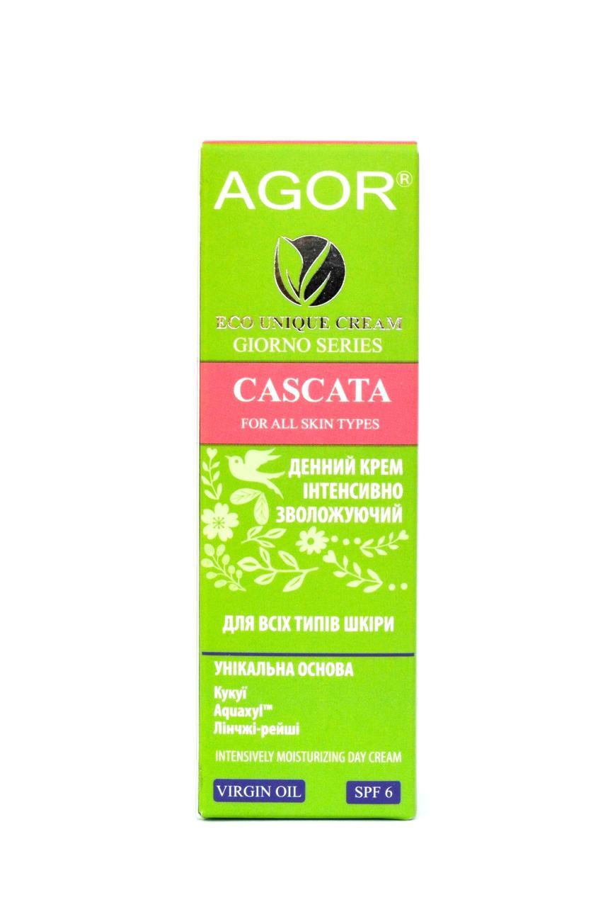 Дневной крем интенсивно - увлажняющий Cascata с SPF 6, Agor, 50 мл
