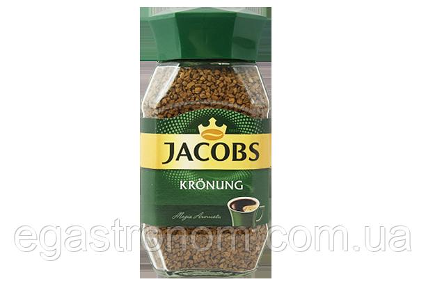 Кава Якобс кронінг (розчинна) Jacobs kronung 200g 6шт/ящ (Код : 00-00005120)