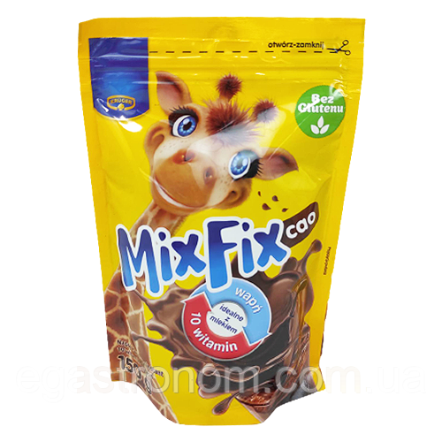 Какао Мікс Фікс Mix Fix Krüger 150g 8шт/ящ (Код : 00-00000325)
