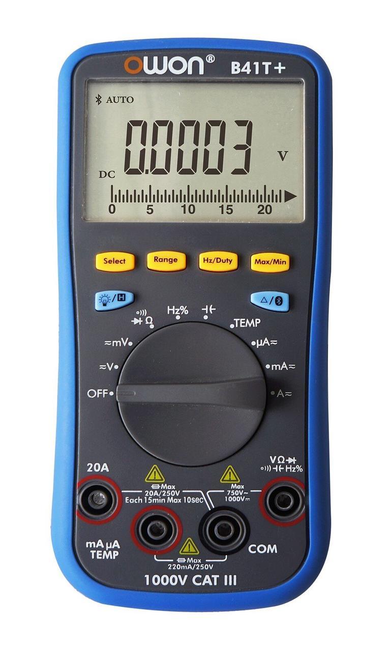 Цифровий мультиметр (з bluetooth) OWON B41T+