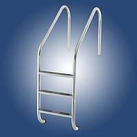Лестница в бассейн Lux Standart 4 ступеньки
