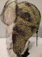 Зимняя шапка ушанка для девочки