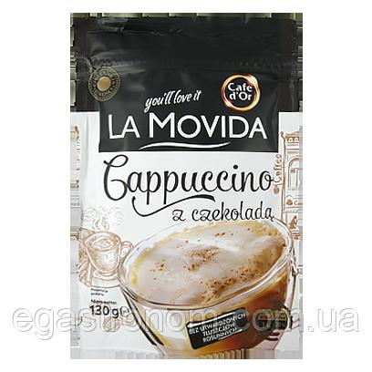 Кава Капучіно Дор Ля Мовіда шоколадне Cafe d'or La Movida czekolada 130g 30шт/ящ (Код : 00-00005602)
