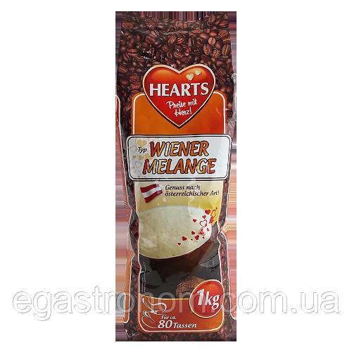 Капучіно Хертс віденський меланж Hearts wiener melange 1kg 10шт/ящ (Код : 00-00003850)