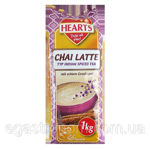 Капучіно Хертс чай латте Hearts chai latte 1kg 10шт/ящ (Код : 00-00004772)