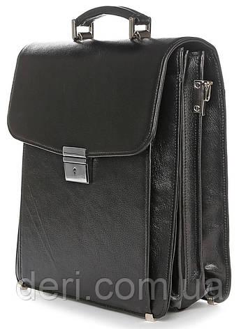 Портфель SHVIGEL 00925 Чорний, Чорний, фото 2