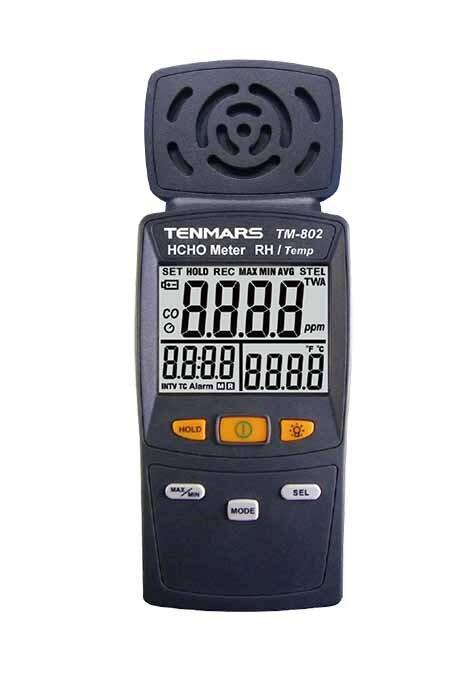 Вимірювач концентрації формальдегіду в повітрі TENMARS TM-802