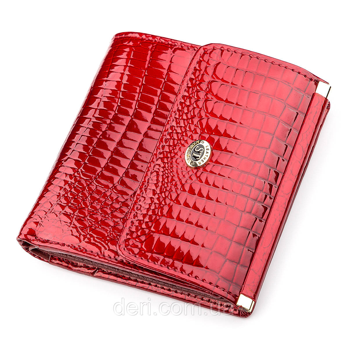 Гаманець жіночий дуже красивий червоний
