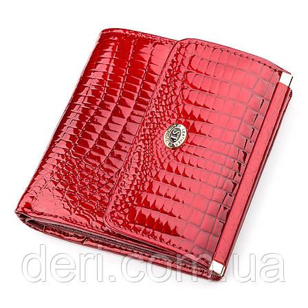 Гаманець жіночий дуже красивий червоний, фото 2