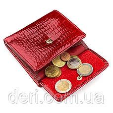 Гаманець жіночий дуже красивий червоний, фото 3