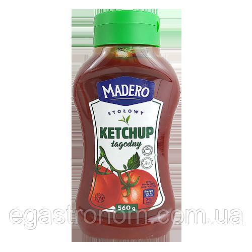 Кетчуп Мадеро лагідний Madero lagodny 560g 12шт/ящ (Код : 00-00003711)