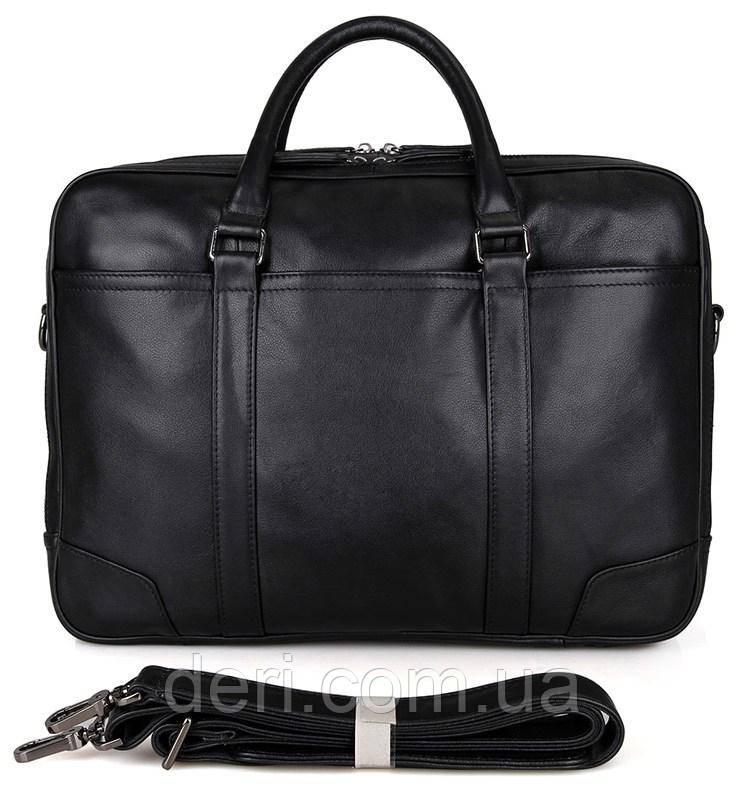 Сумка чоловіча Vintage 14421 Чорна, Чорний