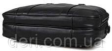 Сумка мужская Vintage 14421 Черная, Черный, фото 2