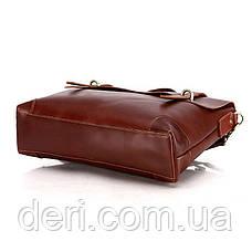 Портфель Vintage 14138 кожаный Коричневый, Коричневый, фото 2