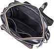 Сумка чоловіча Vintage 14458 Чорна, Чорний, фото 6