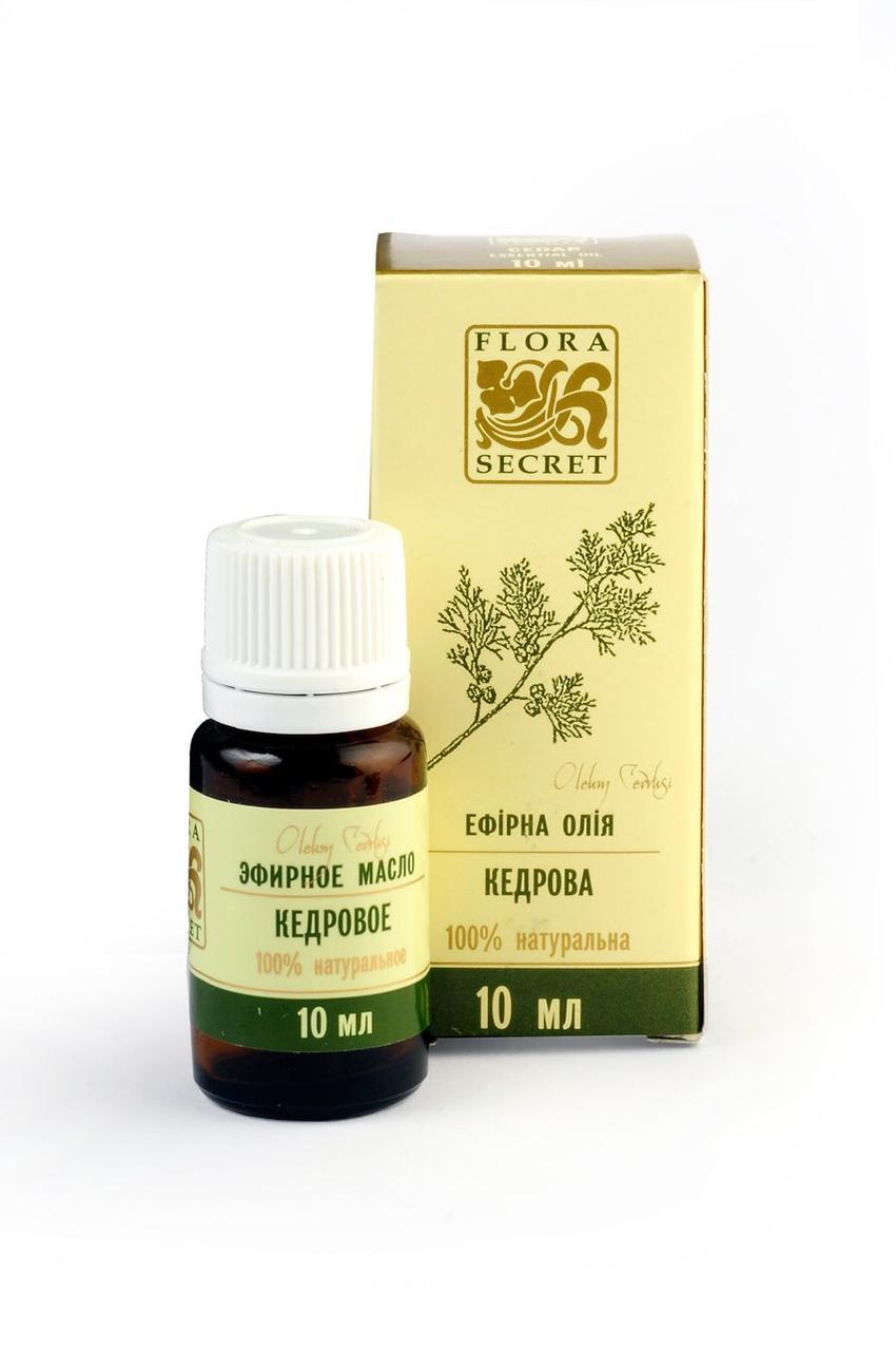 Эфирное масло кедра, Flora Secret, 10 мл