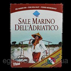 Сіль Морська дрібна Sale Marino fino 1000g 12шт/ящ (Код : 00-00003806)