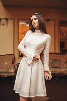 Платье с рукавами-клёш №01342 (ФК)