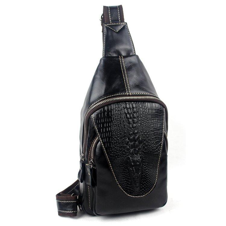 Сумка мужская на плечо Vintage 14760 Черная