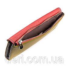 Вместительный женский кошелек розовый, фото 3