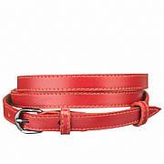 Пояс кожаный MAYBIK 15238 Красный, Красный