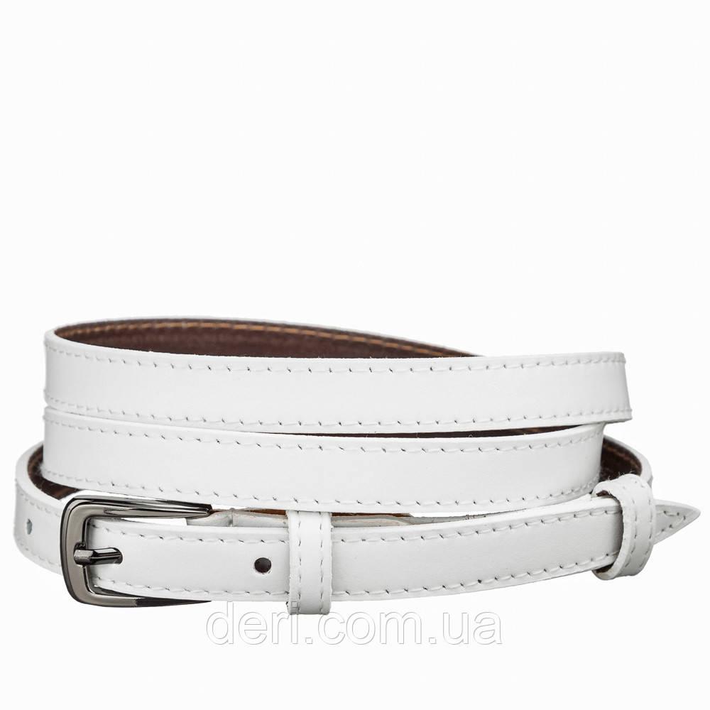 Пояс кожаный MAYBIK 15244 Белый, Белый