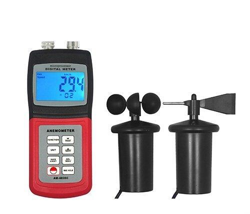 Цифровий анемометр Walcom AM-4836C
