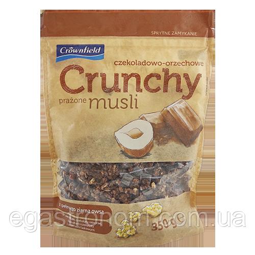 Кранчі Гронфілд шоколад та горіх Grownfield czekoladowo|-orzechowe 350g 18шт/ящ (Код : 00-00003691)