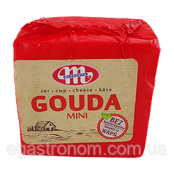 Сир Гауда Міні (червона) Млековіта Gauda Mini 1kg (Код : 00-00001723)