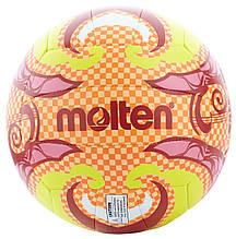 Мяч для пляжного волейбола Molten, Оранжевый, 5