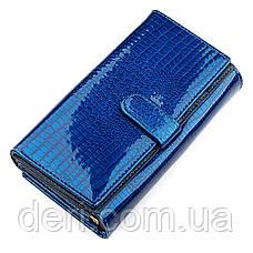 Модний гаманець жіночий синій, фото 2