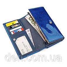 Модний гаманець жіночий синій, фото 3