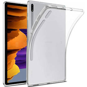 Прозрачный силиконовый чехол-накладка Clear для Samsung Tab S7 11