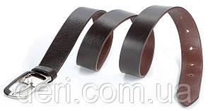 Ремень GRANDE PELLE 00769 кожаный Коричневый, Коричневый, фото 2