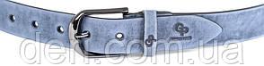 Ремінь GRANDE PELLE 00972 шкіра Синій, Синій, фото 2
