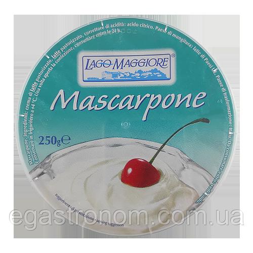 Крем-сир Маскарпоне Лаго Магіоре Lago Maggiore 250g 12шт/ящ (Код : 00-00003370)