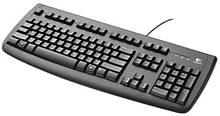 Клавиатура проводная PS/2 Logitech Deluxe D250 бу