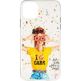 Силиконовая накладка Girls Case New для Huawei Y5P №3