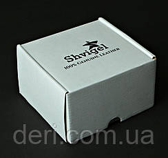 Ремінь SHVIGEL шкіряний 00058 Чорний, Чорний, фото 3