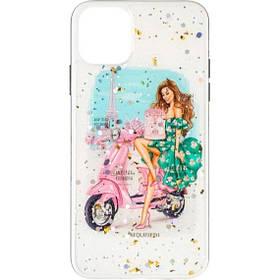 Силиконовая накладка Girls Case New для Huawei Y5P №1