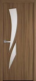 Двери Новый Стиль Камея Р3 стекло сатин