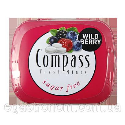Льодяники Компас лісові ягоди Compass wild berry 14g 12шт/ящ (Код : 00-00005459)