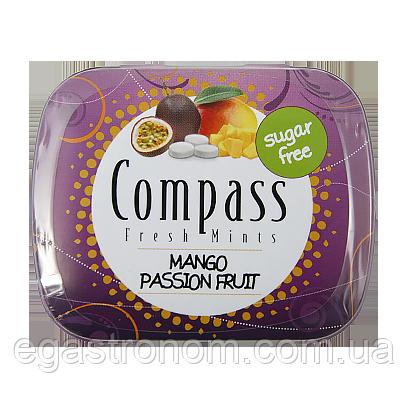 Льодяники Компас манго-маракуя Compass mango-maracuja 14g 12шт/ящ (Код : 00-00005460)