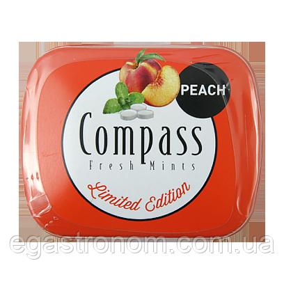 Льодяники Компас персик Compass peach 14g 12шт/ящ (Код : 00-00005456)