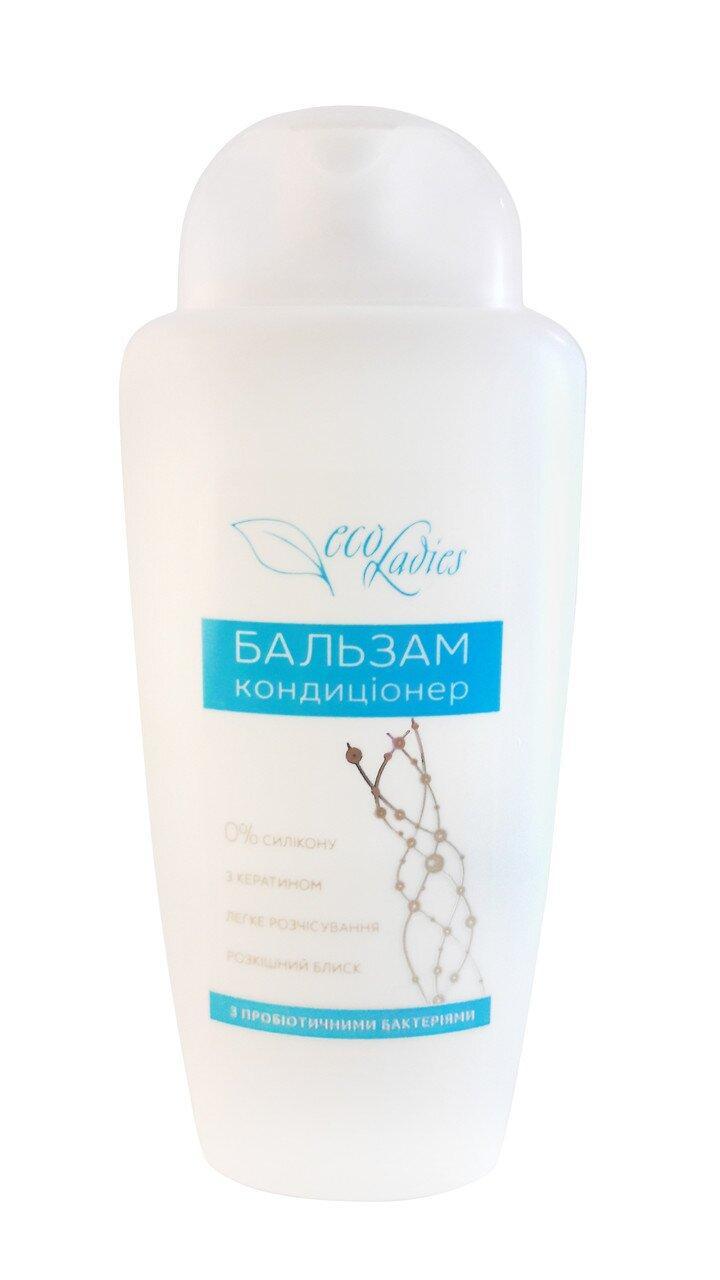 Бальзам-кондиционер для всех типов волос, EcoLadies, 250 мл