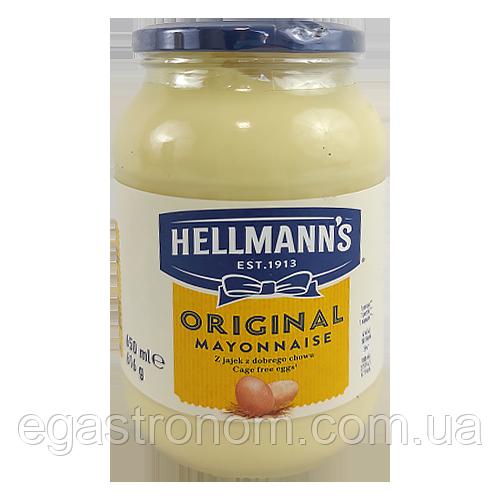 Майонез Хеллманс Оригінал Hellmann's Original 650g 6шт/ящ (Код : 00-00003309)