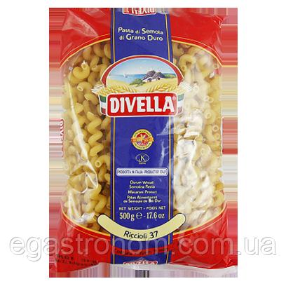 Макарони Дівелла №37 Руколлі Divella Riccioli 500g (Код : 00-00004117)